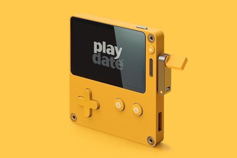 これまでの携帯ゲーム機にない斬新なデザイン