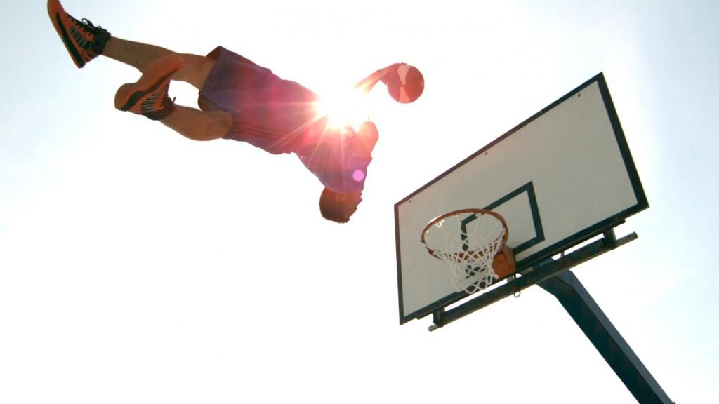 世界第一バスケットボールダンク