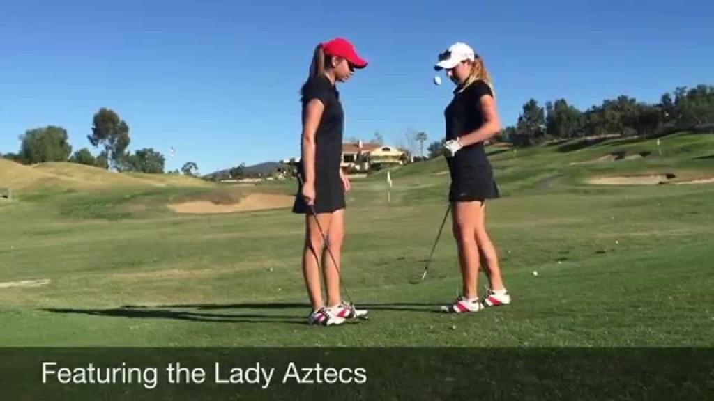 美人女子ゴルフチームの絶賛スキル
