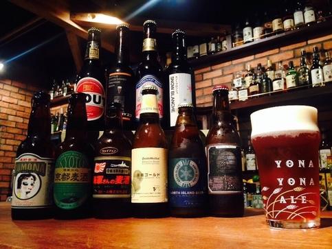 国産クラフトビール全20種が揃う「ビアニッポン」