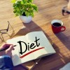 A Man Brainstorming about Diet