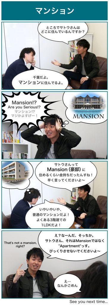 英会話Lesson5漫画