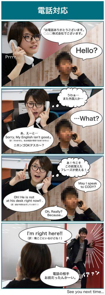 英会話Lesson4漫画