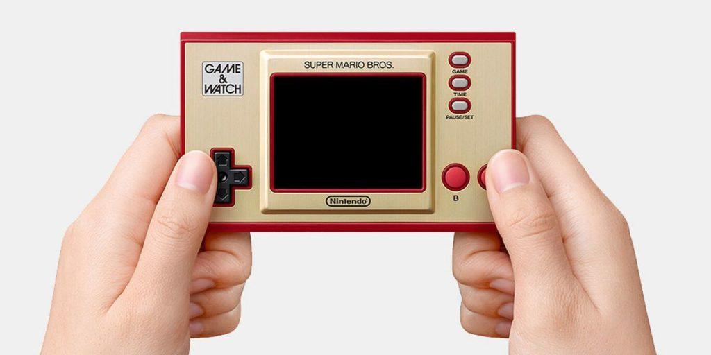 初代マリオとゲーム&ウオッチを手のひらサイズに!35周年記念「ゲーム&ウオッチス